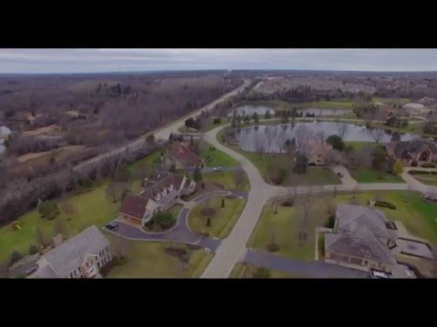 Aerial tour of South Barrington with DJI P3P 4K