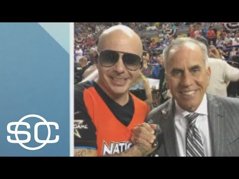 Pitbull Is Barely Taller Than Tim Kurkjian | SportsCenter | ESPN