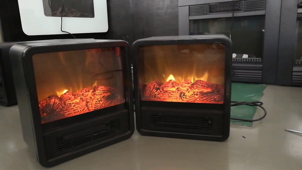 realistic flame effect mini electric stove 18fe01 youtube