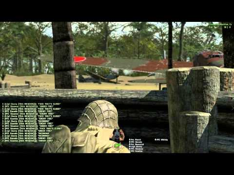 ArmA 2 - Hell in the Pacific - 15th MEU - Peleliu Defence Part 3/3