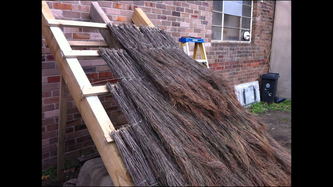 How To Build A Balinese Style Thatch Roof with QUICKthatch  YouTube