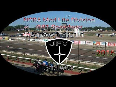NCRA Mod Lite Heat Race #3, 81 Speedway