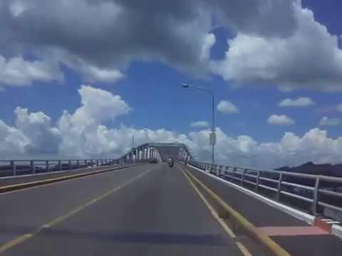 San Juanico Bridge  Pan Philippine Highway, Santa Rita, Leyte May 24, 2012