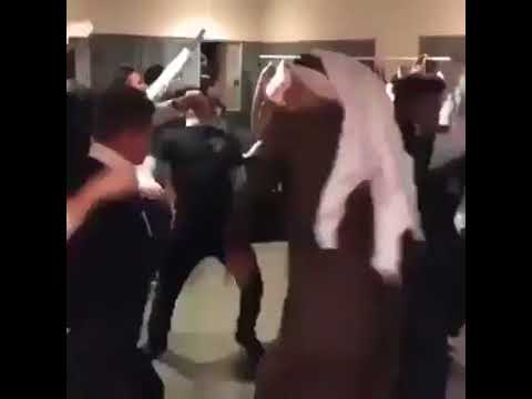 Arab Man Dance with Staff on Scooby Doo Paa Paa  Funny Video.
