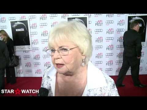 June Squibb red carpet interview at AFI FEST 2013
