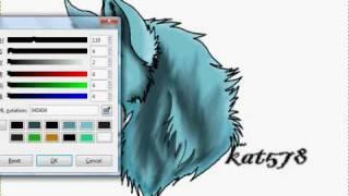 .:: Wolf Head ::.   (Speed Paint)
