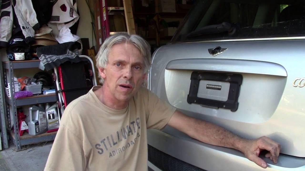 Mini Cooper R56 Rear Hatch Release Switch Repair on