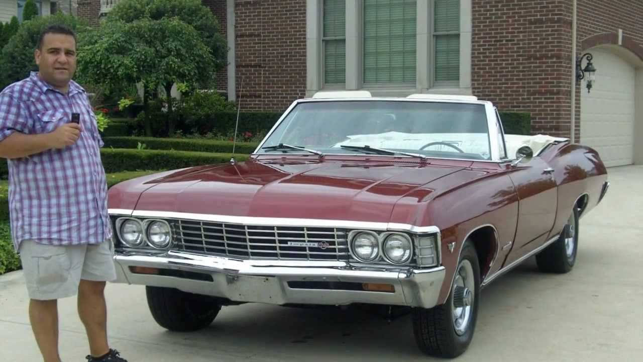 Chevy Impala Ss Convertible Classic Muscle Car For Sale In Mi