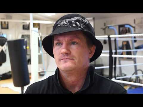 Ricky Hatton talks about his new book War and Peace