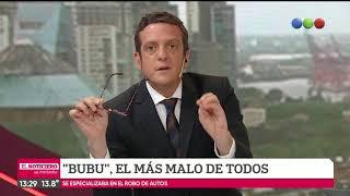 """Así cayó """"Bubu"""""""