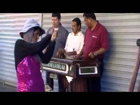 Lady dancing to marimba, Guatemala city Travel Video