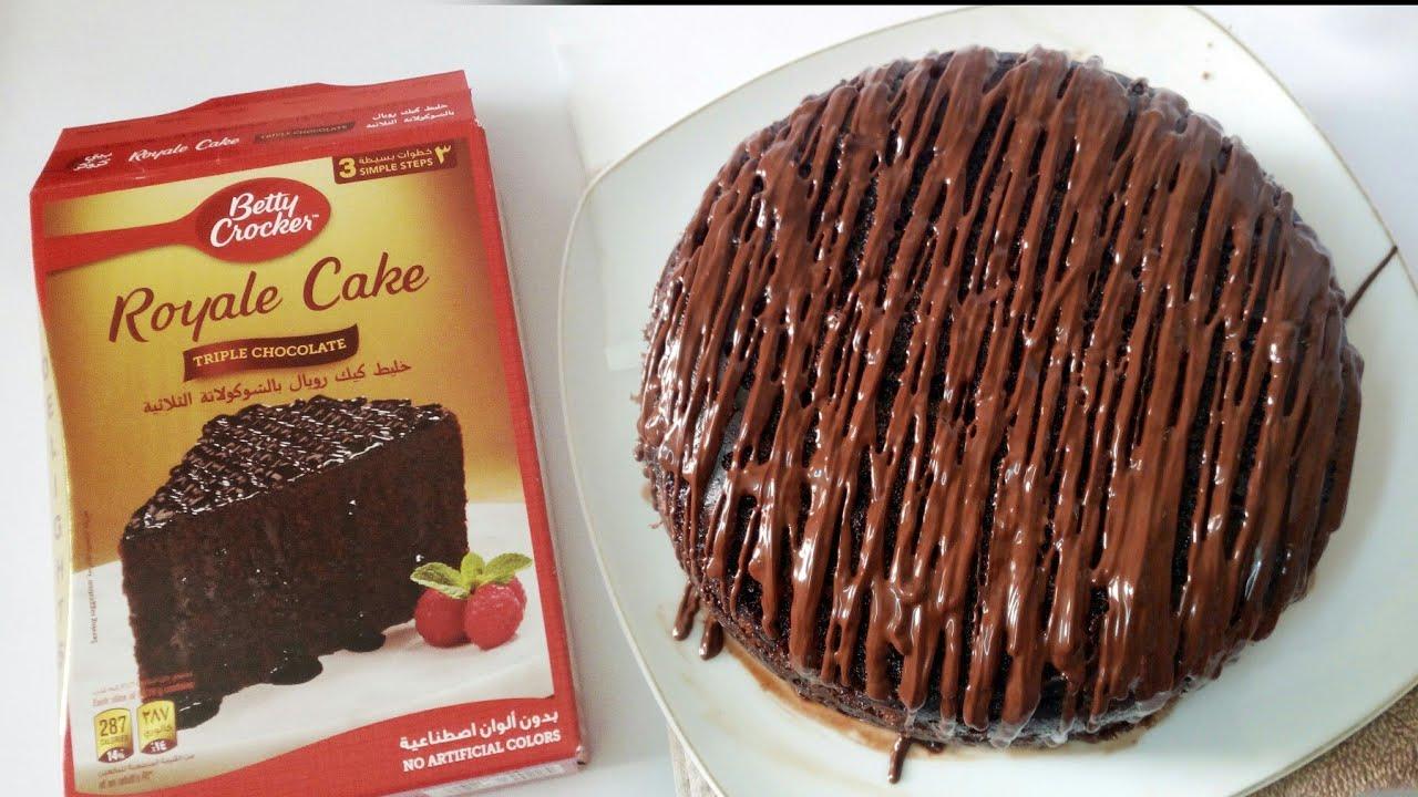 Royale Tripple Chocolate Cake How To Make Betty Crocker Royale Cake