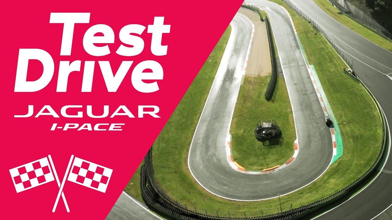 Jaguar All-Electric I-PACE Test Drive
