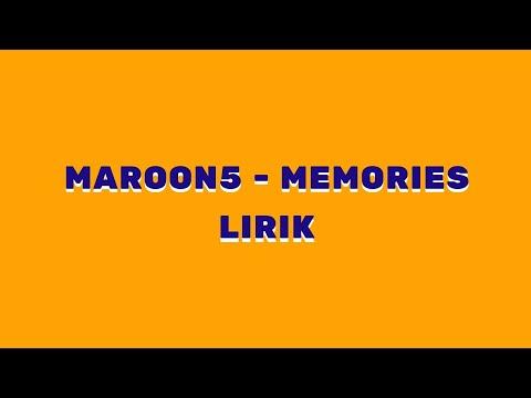 memories---maroon-5-official-lirik