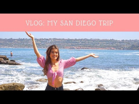 VLOG: My Trip To San Diego 2018 | CATANO GLAM