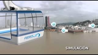 Proyecto de aerovía en Guayaquil