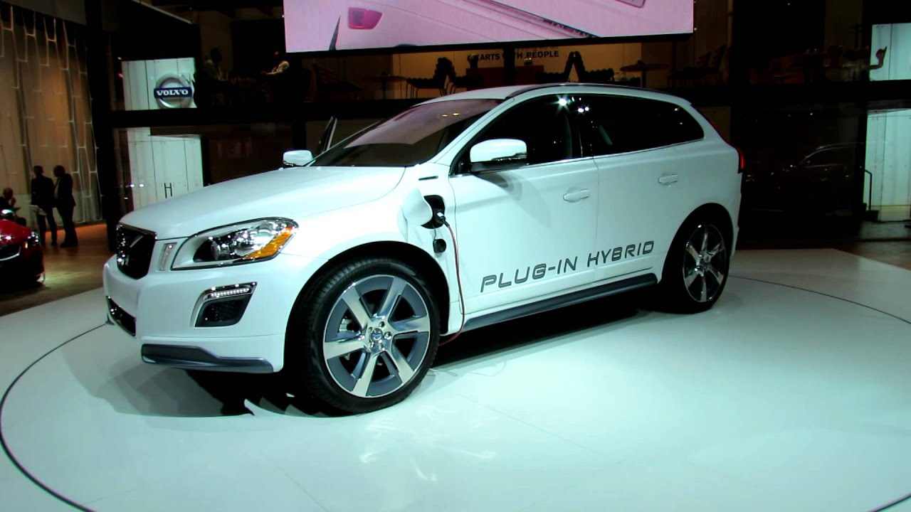 volvo xc60 t8 awd plug in hybrid concept at 2012 new york. Black Bedroom Furniture Sets. Home Design Ideas