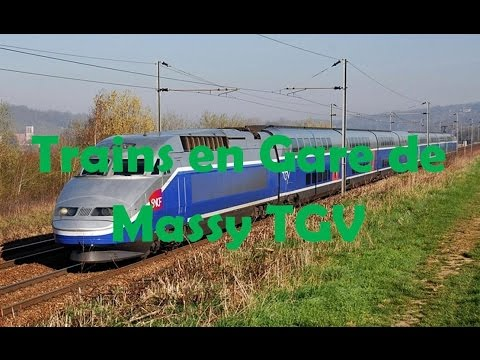 trains en gare de massy tgv tgv youtube. Black Bedroom Furniture Sets. Home Design Ideas