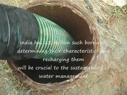 Borewells In India Determining Recharge Rates For