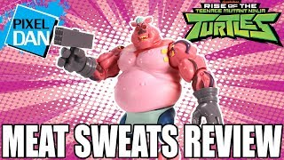Meat Sweats Rise of the TMNT Ninja Turtles Action Figure Video Review