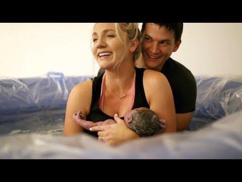 Natural Home Birth | Water Birth
