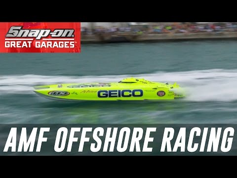 Behind the Garage of AMF Offshore Racing: Snap-on Great Garages™ | Snap-on Tools