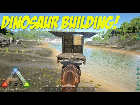 Ark Survival Evolved: Part 30 - BUILDING ON A PARACERATHERIUM!