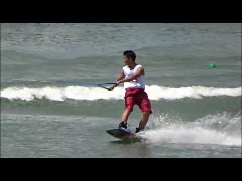 SEA Games 2015 - Waterski Men's WakeBoarding Semi Finals
