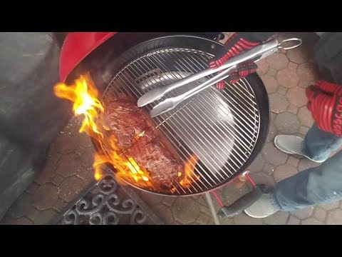 Easy Spin Grate | Reverse Sear Rib-Eye | Weber Kettle | Special Guest