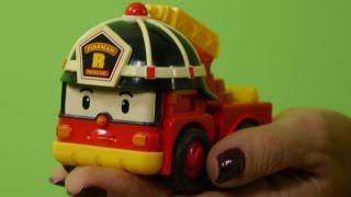 Мультфильмы про машинки - презентация машин спасателей из мультфильма Робокар Поли(Презентация игрушечных машин - спасателей из мультфильма