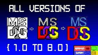 List Of Every Ms Dos Version And Release