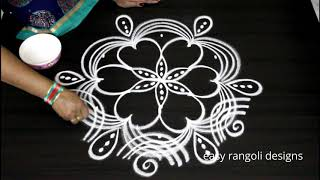 5 dots daily koalm by easy rangoli designs  || latest muggulu