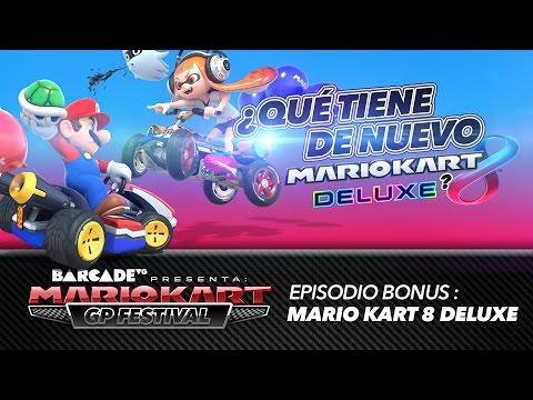 ¿Qué tiene de NUEVO Mario Kart 8 Deluxe?