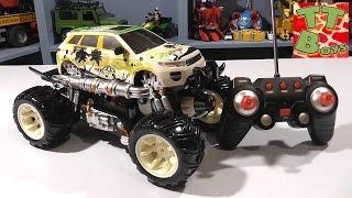 ✔Монстр Трак. Машинка, Стреляющая Водой. Обзор Игрушки От Игорька. Видео Для Детей. Monster Truck ✔