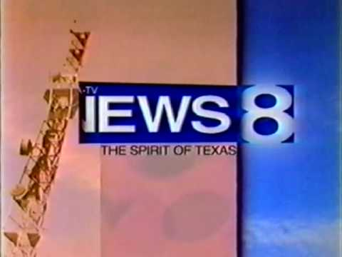 KTVT 11 and WFAA News at 6 1998 Open