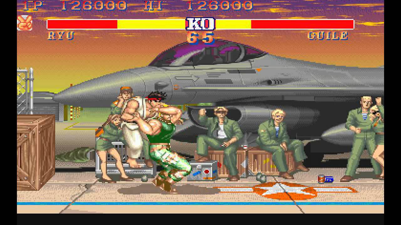 Street Fighter 2 Champion Edition Ryu Vs Guile Youtube