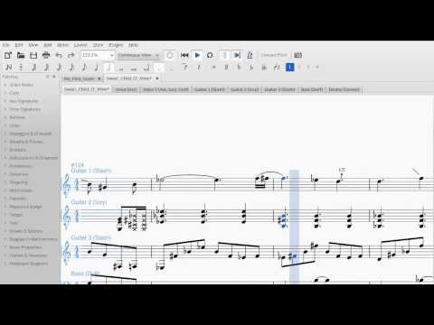 Bend playback in MuseScore 2.x : Guns N' Roses - Sweet Child O' Mine solo