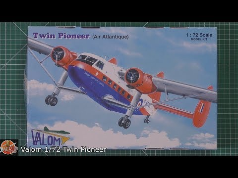 Valom 1/72 Twin Pioneer Review