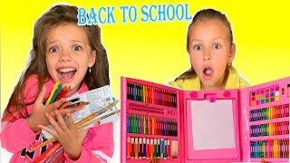 BACK TO SCHOOL или у кого к 1 сентября лучше набор для рисования Скетч от Новизарики ТВ.