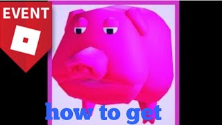 How to get gurt the pig in Roblox (freeze tag)