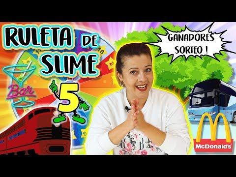 Ruleta de SLIME 5 | Qué slime me tocará hacer? | Slime Roulette en público !!
