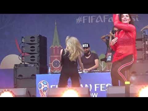 Arilena Ara(#FIFAFANFEST, Воробьевы Горы,15.7.18)