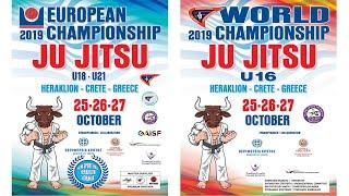 EC JJ U18-U21 / WC JJ U16 / Day 1 TATAMI 1-4