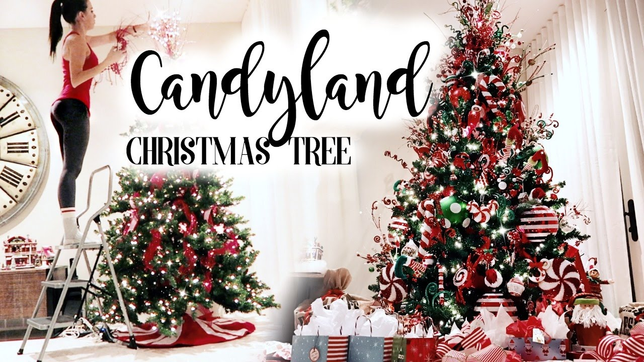 candyland christmas tree - Candyland Christmas Decorations