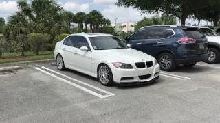 Bmw e90 mtech bumper Bc racing vmr wheels