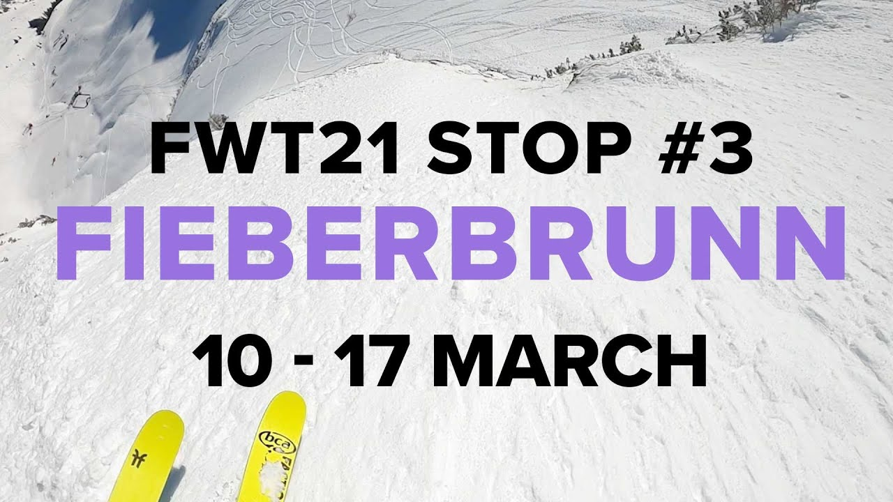 Freeride World Tour Third Stop. Fieberbrunn, Austria