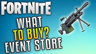 "Fortnite Save The World Event Store ""Fortnite Hacksaw"" Fortnite What To Buy With Gold!"