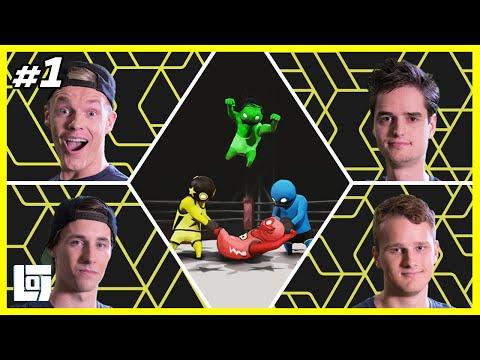 Gang Beasts met Enzo, Don, Link en Ronald | XL Battle | LOGNL #1