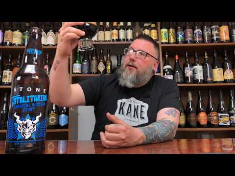 Massive Beer Review 1503 Stone Brewing Totalitarian Russian Imperial Stout