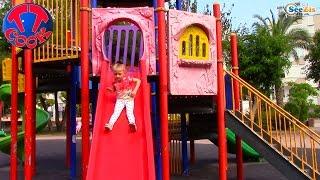 Кукла Барби. Ярослава на Детской Площадке в Анталии. Видео для детей. Doll Barbie